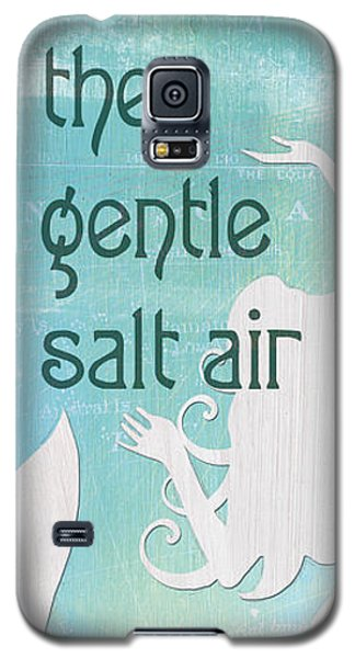Fairy Galaxy S5 Case - La Mer Mermaid 2 by Debbie DeWitt