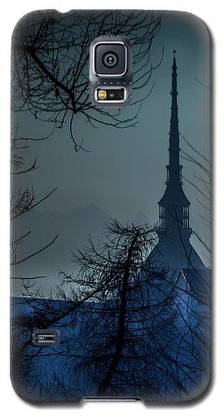 La Mole Antonelliana-blu Galaxy S5 Case