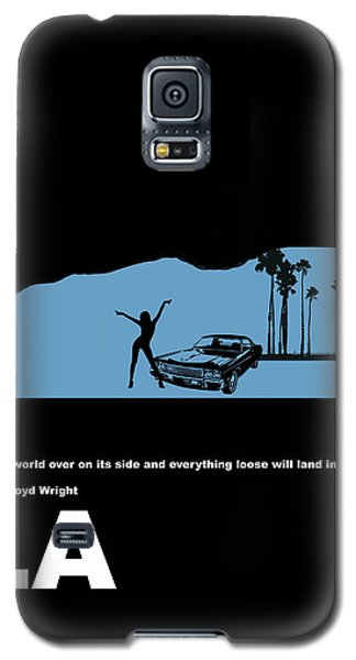 La Night Poster Galaxy S5 Case by Naxart Studio