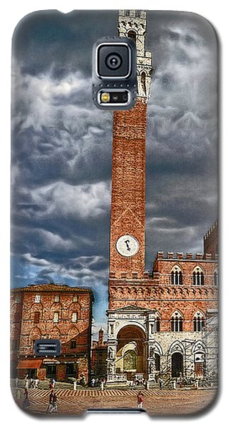 Galaxy S5 Case featuring the photograph La Piazza by Hanny Heim