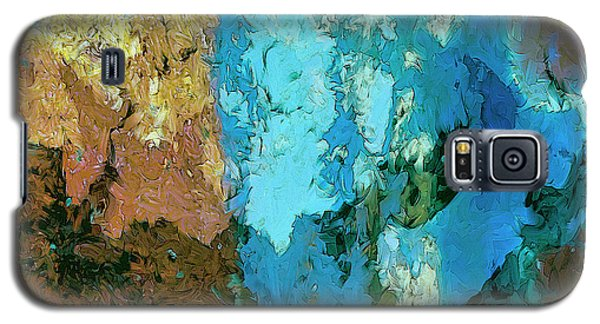 Galaxy S5 Case featuring the painting La Playa by Dominic Piperata