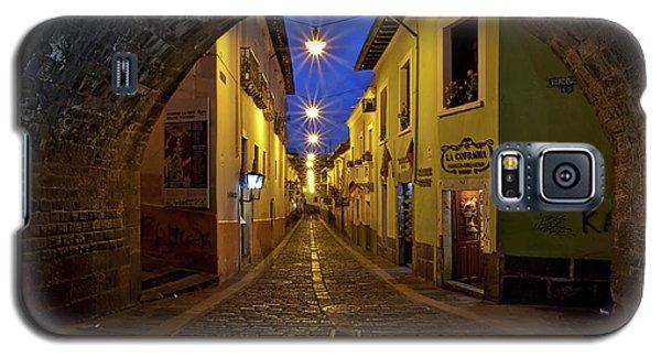 La Ronda Calle In Old Town Quito, Ecuador Galaxy S5 Case