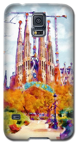 La Sagrada Familia - Park View Galaxy S5 Case by Marian Voicu