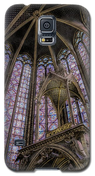 Paris, France - La-sainte-chapelle - Apse And Canopy Galaxy S5 Case