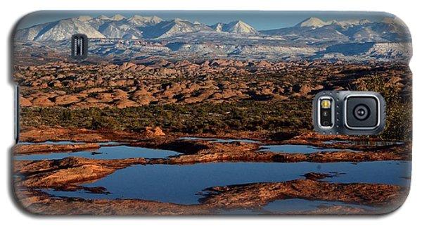 La Sal Mountains And Ephemeral Pools Galaxy S5 Case