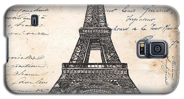 La Tour Eiffel Galaxy S5 Case by Debbie DeWitt