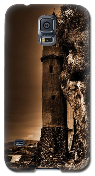 La Tour Upright In Sepia Galaxy S5 Case