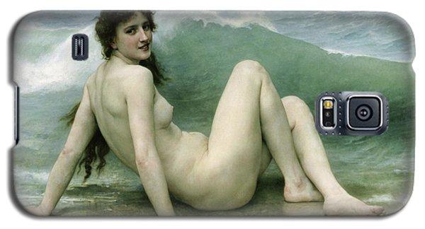 La Vague Galaxy S5 Case by William Adolphe Bouguereau