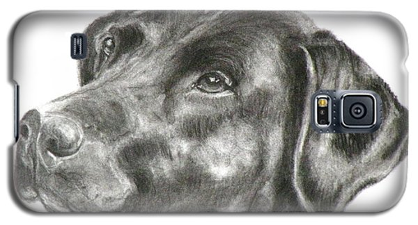 Lab Charcoal Drawing Galaxy S5 Case