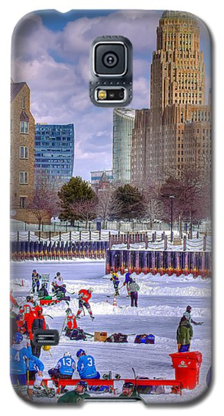 Labatts Pond Hockey Galaxy S5 Case by Don Nieman