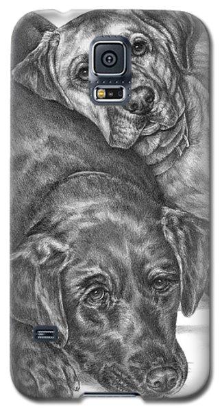 Labrador Dogs Nap Time Galaxy S5 Case