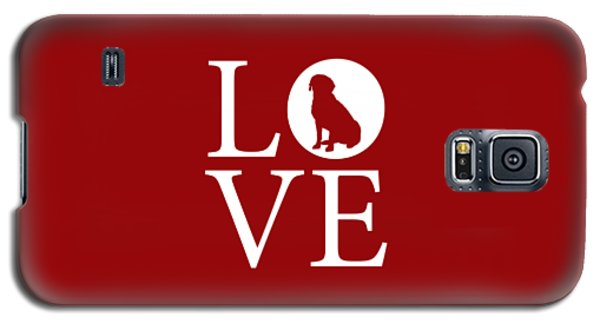Labrador Love Red Galaxy S5 Case