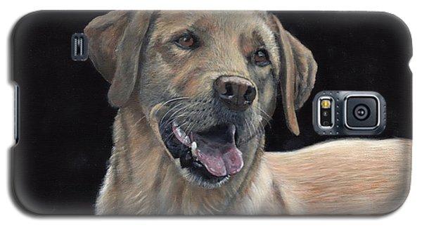 Labrador Portrait Galaxy S5 Case