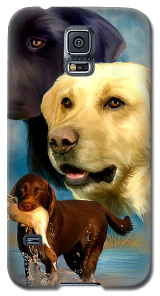Labrador Retrievers Galaxy S5 Case