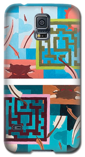 Labyrinth Night And Day Galaxy S5 Case