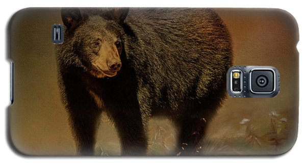 Black Bear In The Fall Galaxy S5 Case