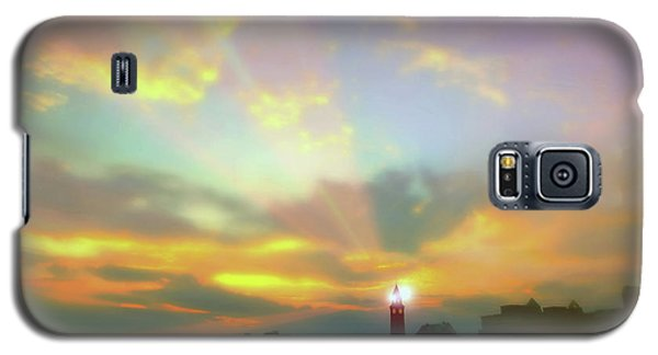 Galaxy S5 Case featuring the photograph Lackawanna Transit Sunset by Diana Angstadt
