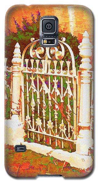 Lacy Garden Gate Galaxy S5 Case