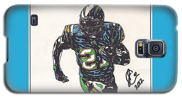 Ladainian Tomlinson 1 Galaxy S5 Case by Jeremiah Colley