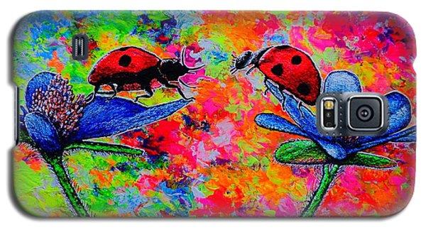 Lady Bugs Galaxy S5 Case by Viktor Lazarev