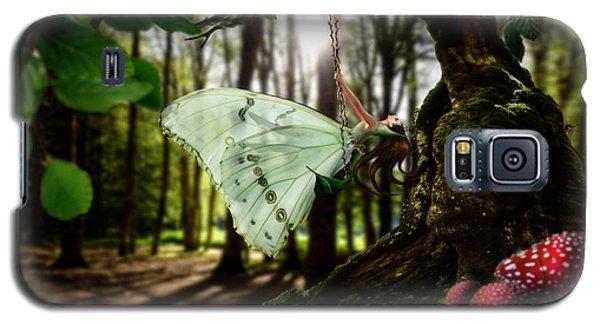 Lady Butterfly Galaxy S5 Case