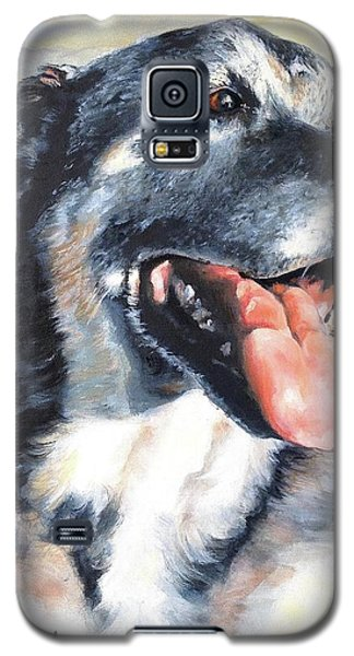 Lady Galaxy S5 Case by Diane Daigle