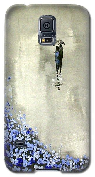 Lady In Blue Galaxy S5 Case by Raymond Doward