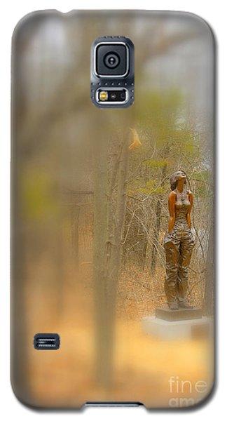 Lady In Bronze Galaxy S5 Case