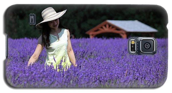 Lady In Lavender Galaxy S5 Case