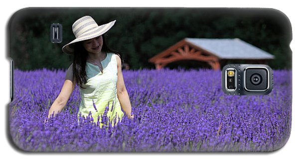 Lady In Lavender Galaxy S5 Case