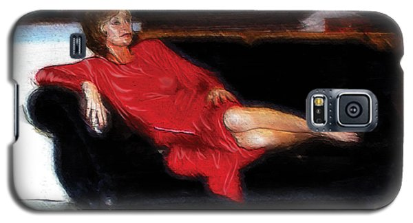 Lady In Red Galaxy S5 Case