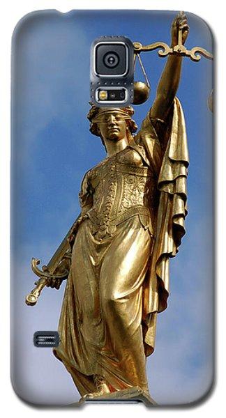 Lady Justice In Bruges Galaxy S5 Case