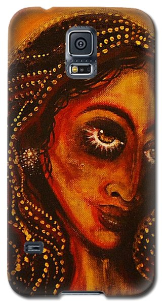 Lady Of Gold Galaxy S5 Case