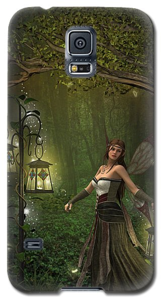 Lady Of The Lanterns Galaxy S5 Case