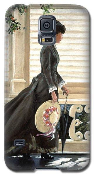 Lady On A Porch Galaxy S5 Case