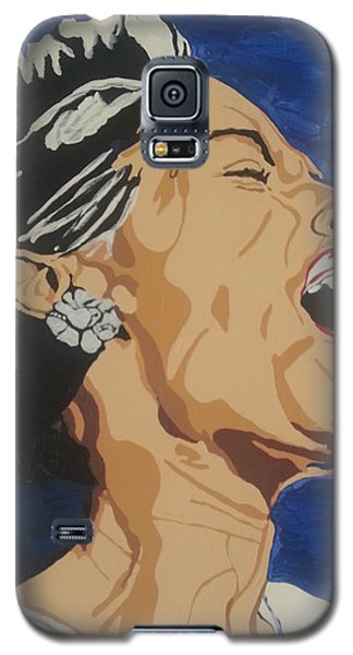 Lady Sings The Blues Galaxy S5 Case