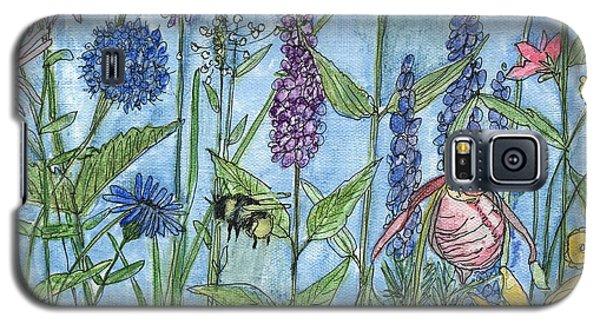 Lady Slipper In My Garden  Galaxy S5 Case