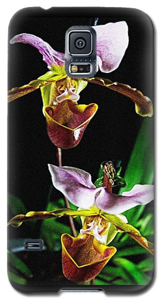 Lady Slipper Orchid Galaxy S5 Case