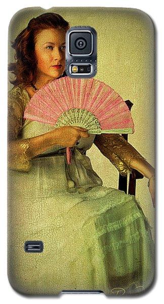 Lady With A Fan Galaxy S5 Case