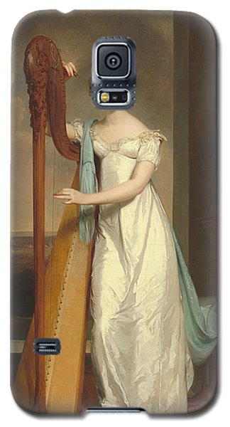 Lady With A Harp Galaxy S5 Case