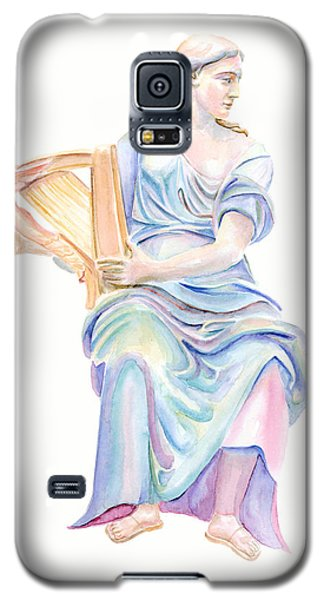 Lady With The Golden Harp Galaxy S5 Case