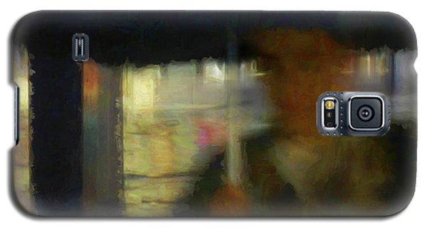 Lady With Umbrella Galaxy S5 Case