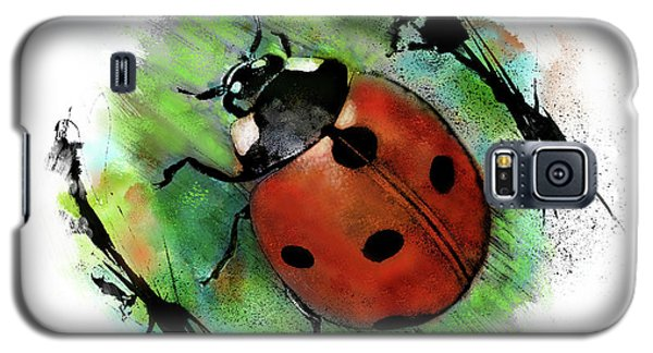 Ladybug Drawing Galaxy S5 Case