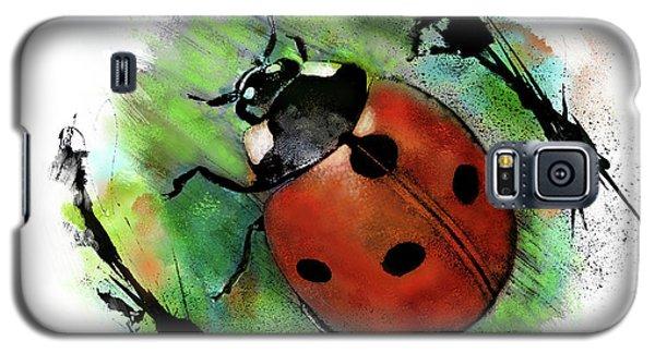 Ladybug Drawing Galaxy S5 Case