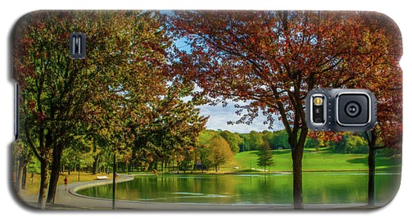 Lagoon Park In Montreal Galaxy S5 Case