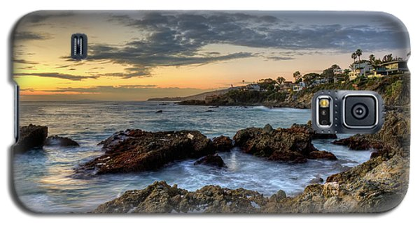 Laguna Beach Coastline Galaxy S5 Case by Eddie Yerkish