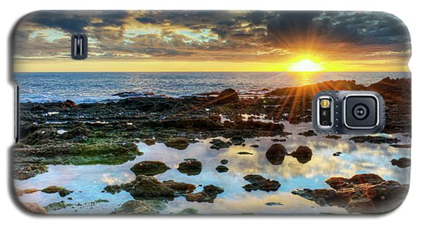 Laguna Beach Tidepools Galaxy S5 Case by Eddie Yerkish