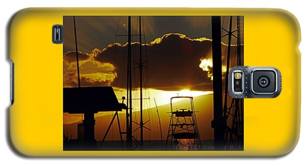 Lahaina Sunsets 5 Galaxy S5 Case