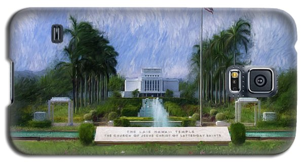 Laie Hawaii Temple Galaxy S5 Case