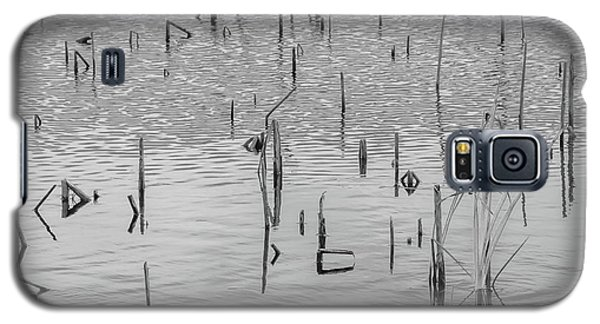 Galaxy S5 Case featuring the photograph Lake Abstract by Carolyn Dalessandro